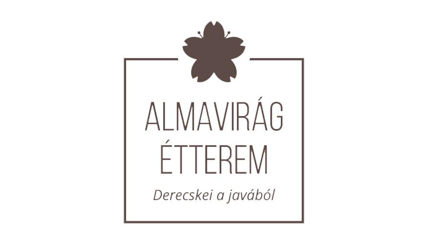 Almavirág Étterem (Derecske) logo