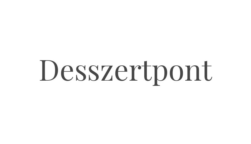 Desszertpont logo