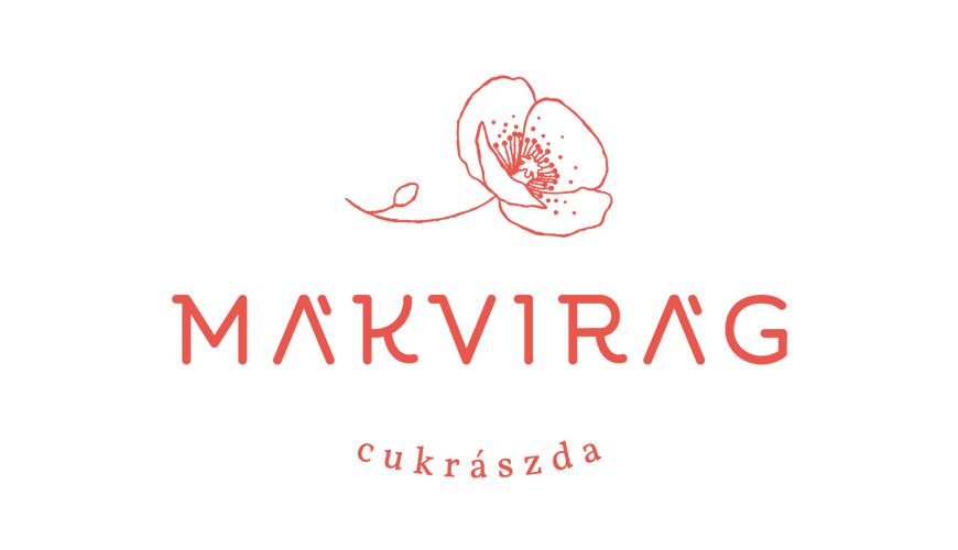 Mákvirág Cukrászda logo