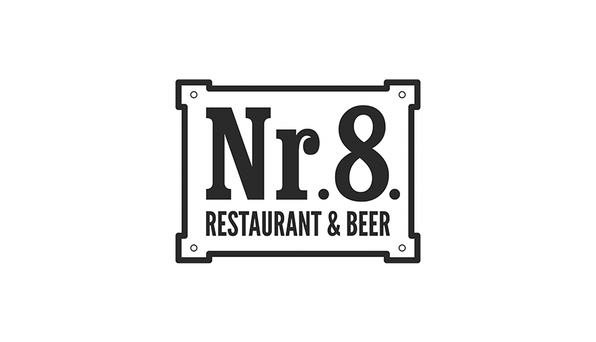 Nr. 8. Restaurant & Beer logo