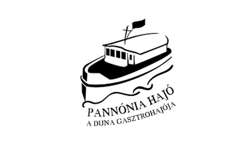 Pannónia Gasztrohajó logo