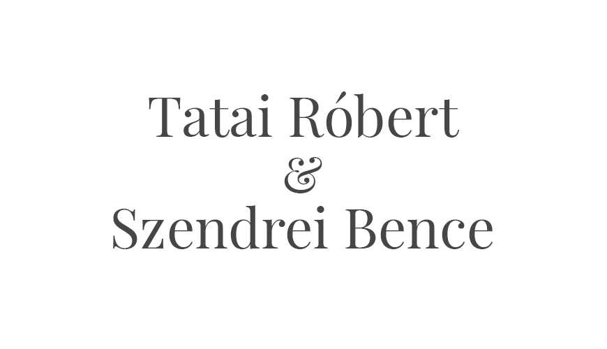 Tatai Robi & Szendrei Bence logo